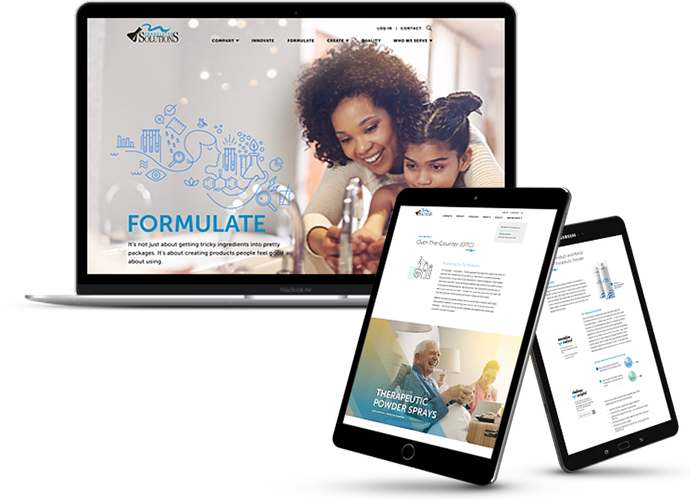 Formulated Solutions Launches New Website